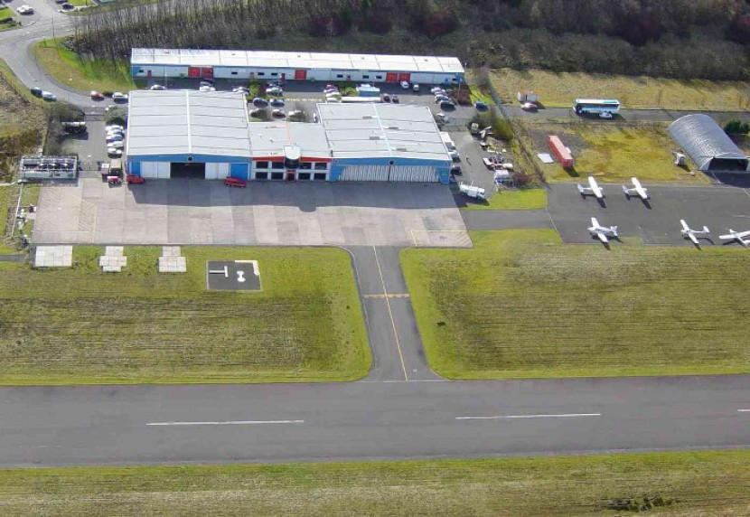 Flight training Cumbernauld Scotland